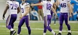 Vikings coach says kicking issues are mental, while Walsh expresses confidence