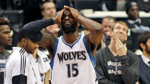 Pacers at Timberwolves: 12/21/14