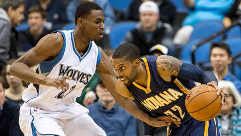 Pacers at Timberwolves: 12/21/14