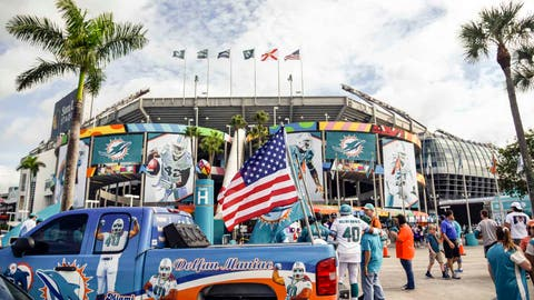 Vikings at Dolphins: 12/21/14