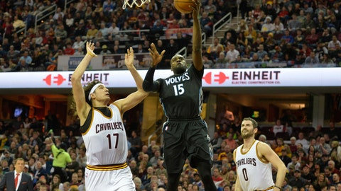 Wolves at Cavaliers: 12/23/14