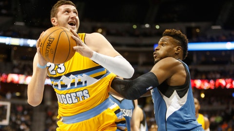 Wolves at Nuggets: 12/26/14