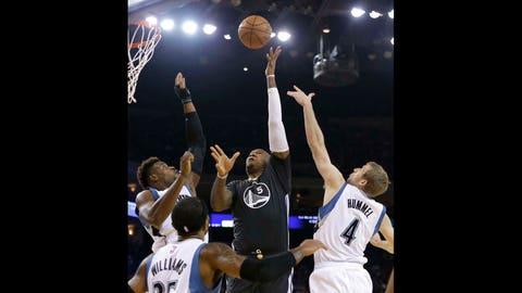 Timberwolves at Warriors: 12/27/14