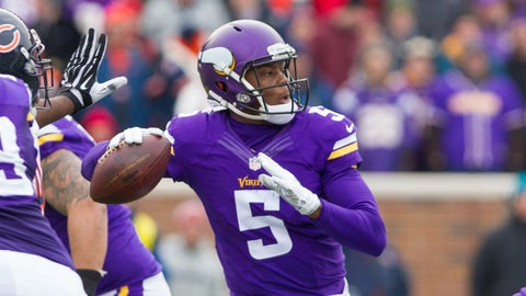 Louisville: QB Teddy Bridgewater, No. 32 overall (2014), Minnesota Vikings