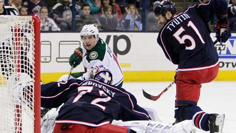 Minnesota Wild at Columbus Blue Jackets: 12/31/14