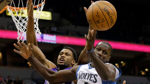 Kings at Timberwolves: 1/1/15