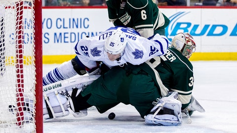 Maple Leafs at Wild: 1/2/15