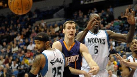 Suns at Wolves: 1/7/15