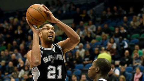 Spurs at Timberwolves: 1/10/15