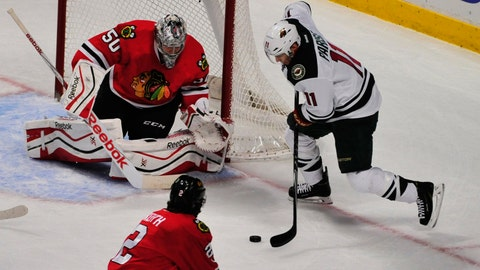 Wild at Blackhawks: 1/11/15