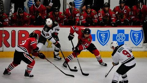 Wild at Blackhawks: 1/11/15