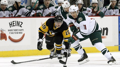 Wild at Penguins: 1/13/15