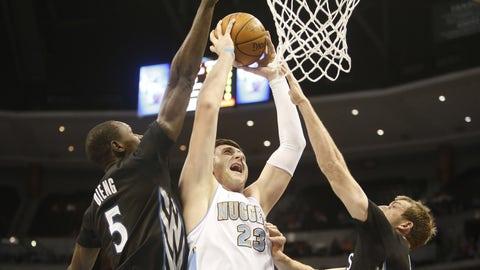 Minnesota Timberwolves at Denver Nuggets: 1/17/15
