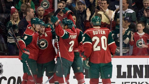 Blue Jackets at Wild: 1/19/15
