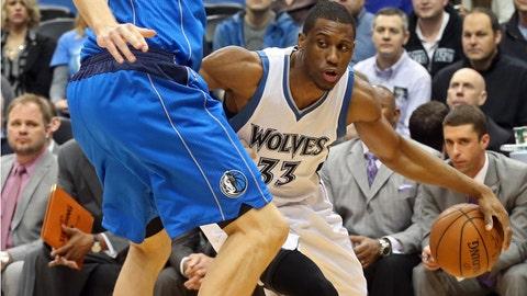 Mavericks at Wolves: 1/21/15