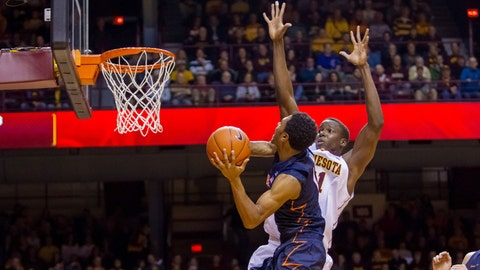 Fighting Illini at Gophers: 1/24/15
