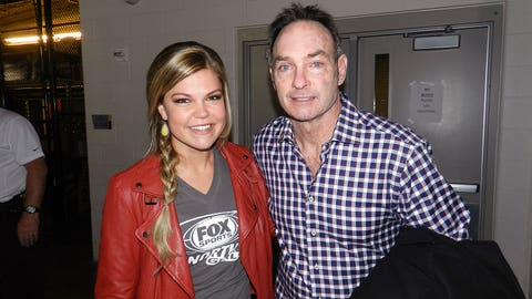 Kendall met the man who will be leading the Minnesota Twins this year, new manager Paul Molitor!