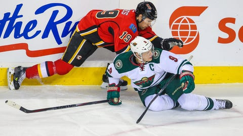 Minnesota Wild at Calgary Flames: 1/29/15
