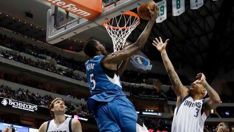 Timberwolves at Mavericks: 2/2/15