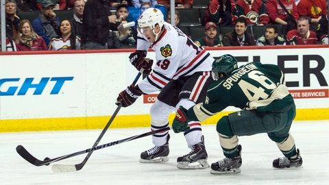 Blackhawks at Wild: 2/3/15