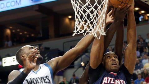 Hawks at Timberwolves: 2/09/15