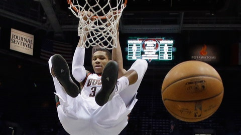 Giannis Antetokounmpo, F, Milwaukee Bucks