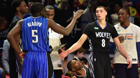 PHOTOS: Wolves' NBA All-Star Weekend