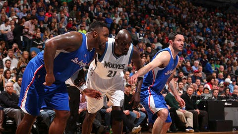 Clippers at Timberwolves: 3/2/15