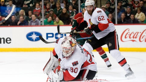 PHOTOS: Wild 3, Senators 2 (SO)