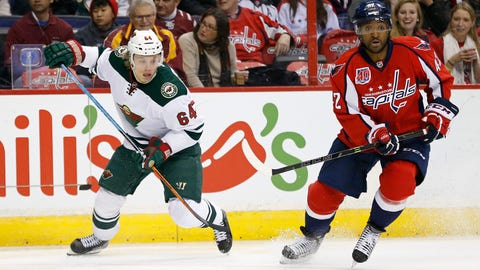 PHOTOS: Wild 2, Capitals 1