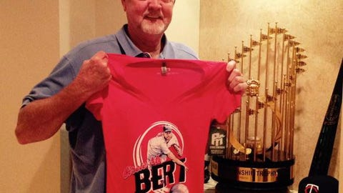 Bert Blyleven, former Twins pitcher, FOX Sports North baseball analyst
