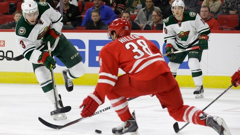 PHOTOS: Wild 3, Hurricanes 1