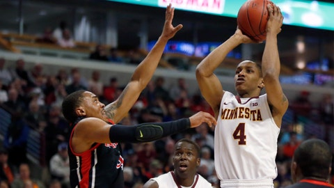 PHOTOS: Gophers 80, Scarlet Knights 68