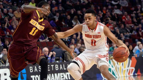 PHOTOS: Buckeyes 79, Gophers 73