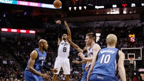 PHOTOS: Spurs 123, Wolves 97