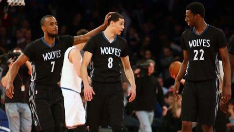 Timberwolves at Knicks: 3/19/15