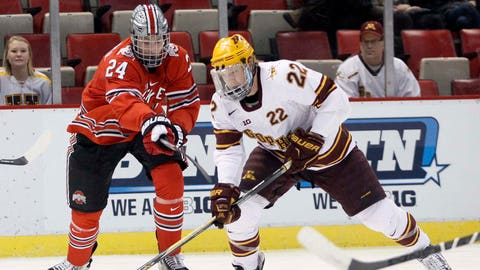 Gophers hockey vs. Buckeyes: 3/20/15