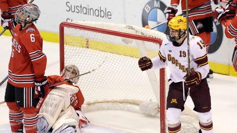 Gophers hockey vs. Buckeyes: 3/20/15