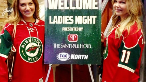 And that's a wrap on another Minnesota Wild Ladies Night!