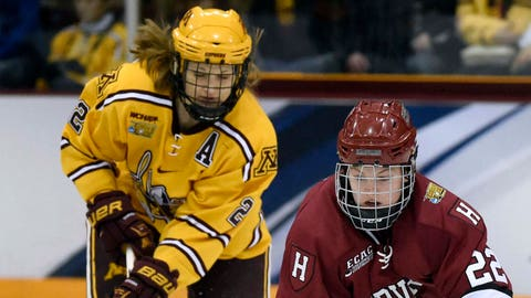 Gophers women's hockey vs. Crimson: 3/22/15