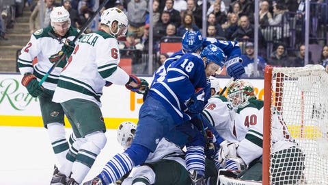 Wild at Maple Leafs: 3/23/15
