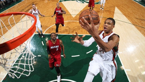PHOTOS: Bucks 89, Heat 88