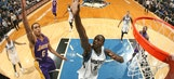Lakers slip past Wolves in overtime, 101-99