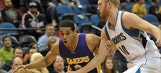 Jordan Clarkson scores 8 in OT to carry Lakers over Timberwolves