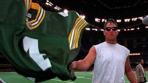 Brett Favre, former Vikings quarterback