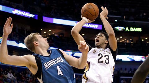 Timberwolves at Pelicans: 3/29/15