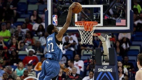 2014 No. 1 Pick: Andrew Wiggins (Cleveland Cavaliers)