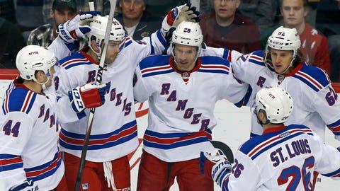 Rangers at Wild: 4/2/15