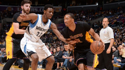 PHOTOS: Lakers 106, Wolves 98