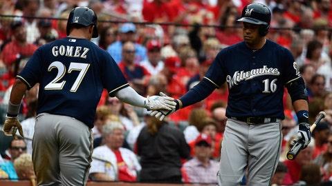 Brewers at Cardinals: 4/13/15-4/16/15